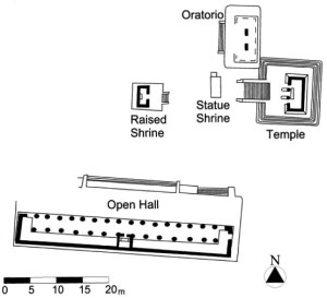Temple Assemblage, Mayapan (redrawn from Proskouriakoff 1962)