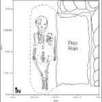 Plan of Burial 2, Unit 3766, 5433