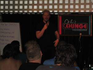 Jim Gaffigan at the July 24th, 2010 Live Show