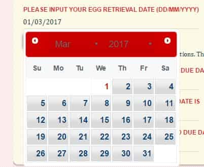 IVF Due Date Calculator with one,twins or triplets,FET Due Date