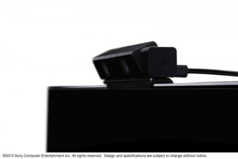 Playstation4 Kamera von der Seite