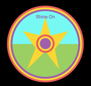 Shine On Badge