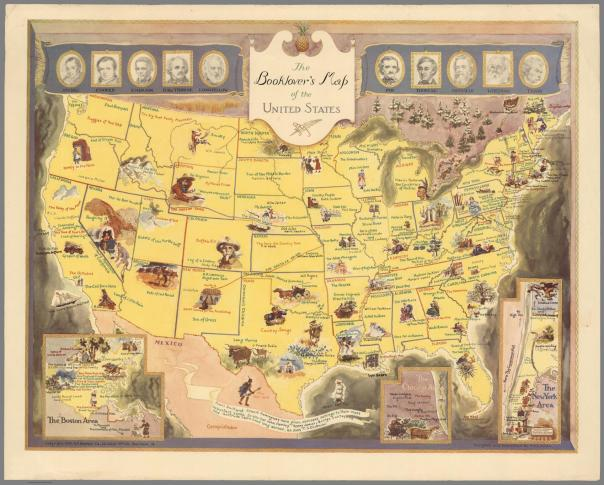 Booklover's Map of America