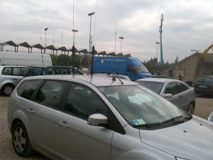 A mobile antenna farm example