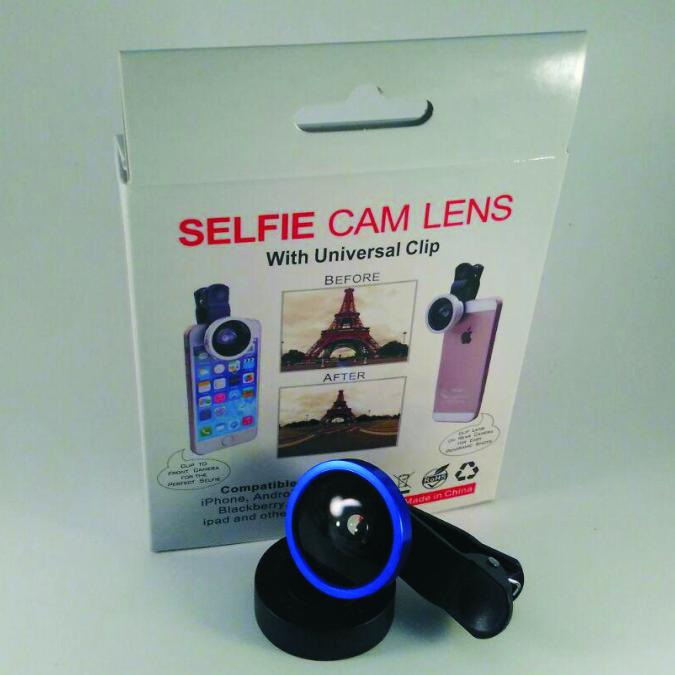 Selfie cam lens
