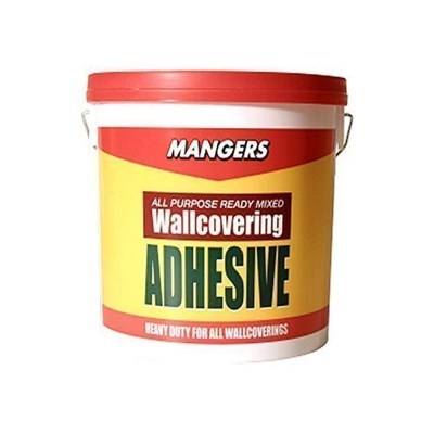 Mangers 1kg Ready Mixed All Purpose Wallpaper Paste Adhesive Glue