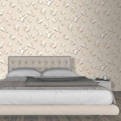 Muriva Just Like It Butterfly 3D Butterflies Pattern Wallpaper J65807
