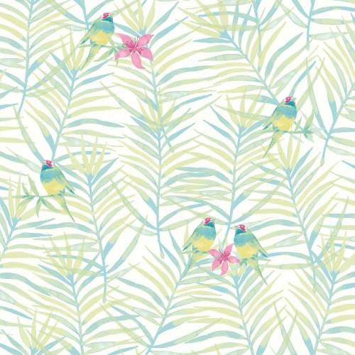 Medium Of Palm Leaf Wallpaper