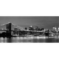 Brooklyn Bridge New York Light Up LED Photographic Wall ...