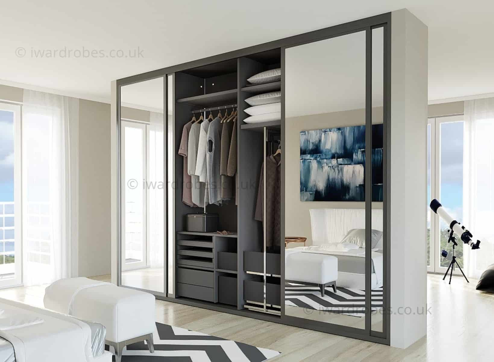 sliding door storage