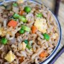 Quick And Easy Brown Fried Rice I Wash You Dry