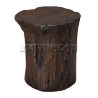 Magnesium Oxide Tree Stump Stool AC9010,Chinese Furniture ...