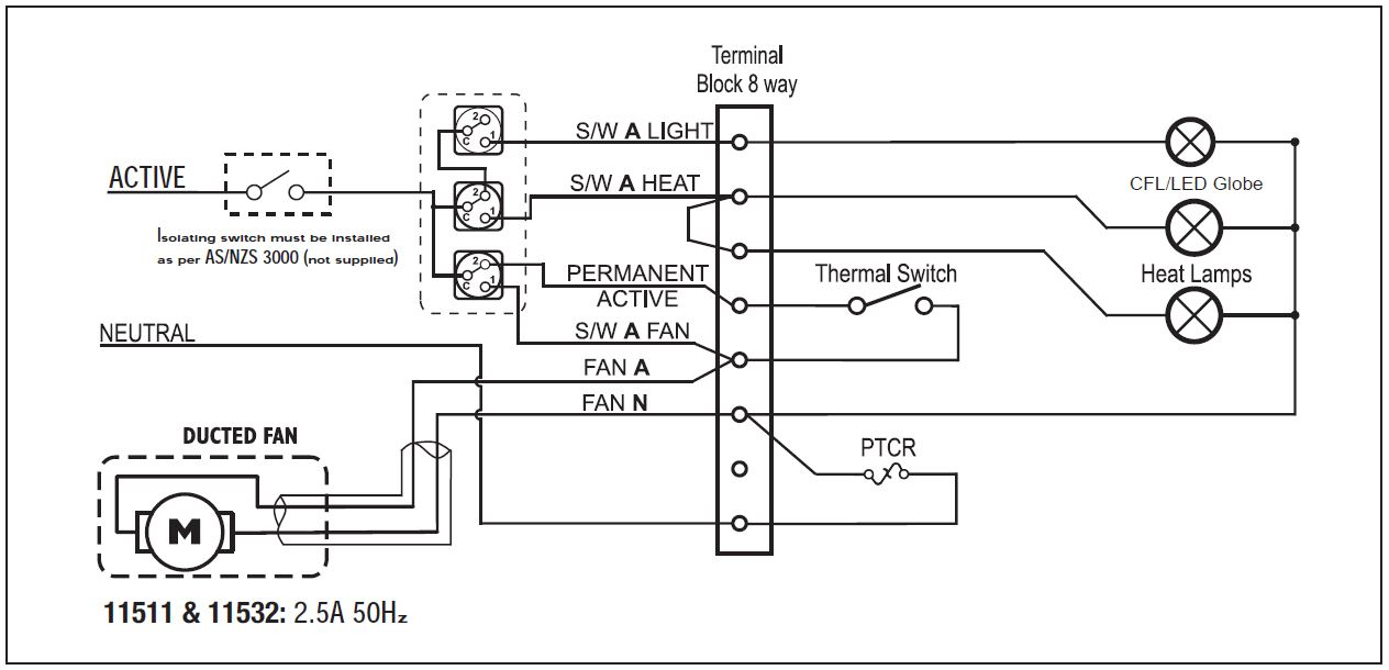 in out wiring diagram fan