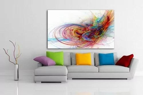Tableau design  décoration moderne et colorée