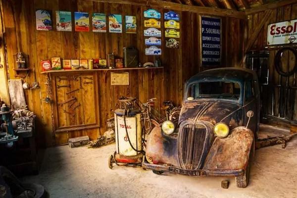 Car Mural Wallpaper Papier Peint Vintage Garage R 233 Tro Izoa