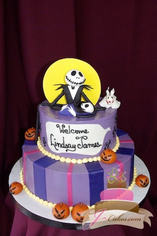 Baby Showers - JCakes - nightmare before christmas baby shower decorations