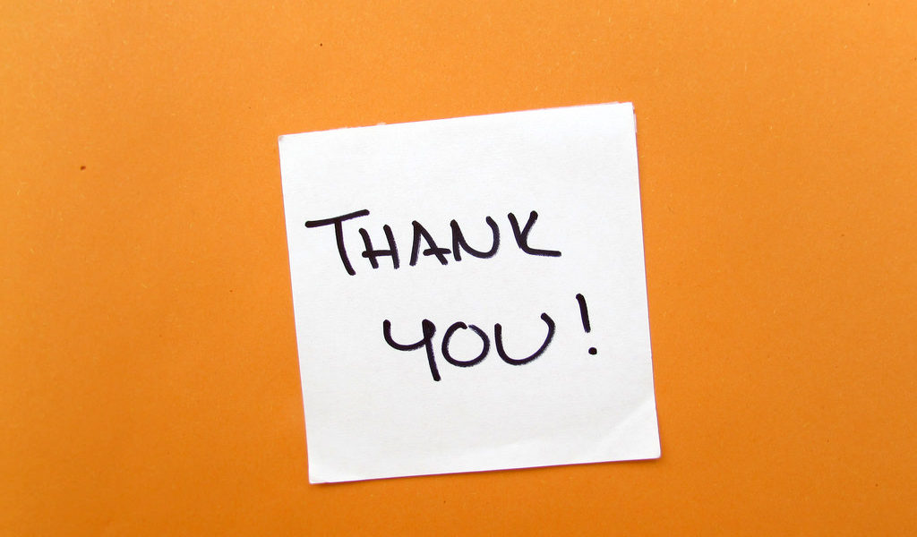 Gratitude at Work Why you should say thank you for a job well done
