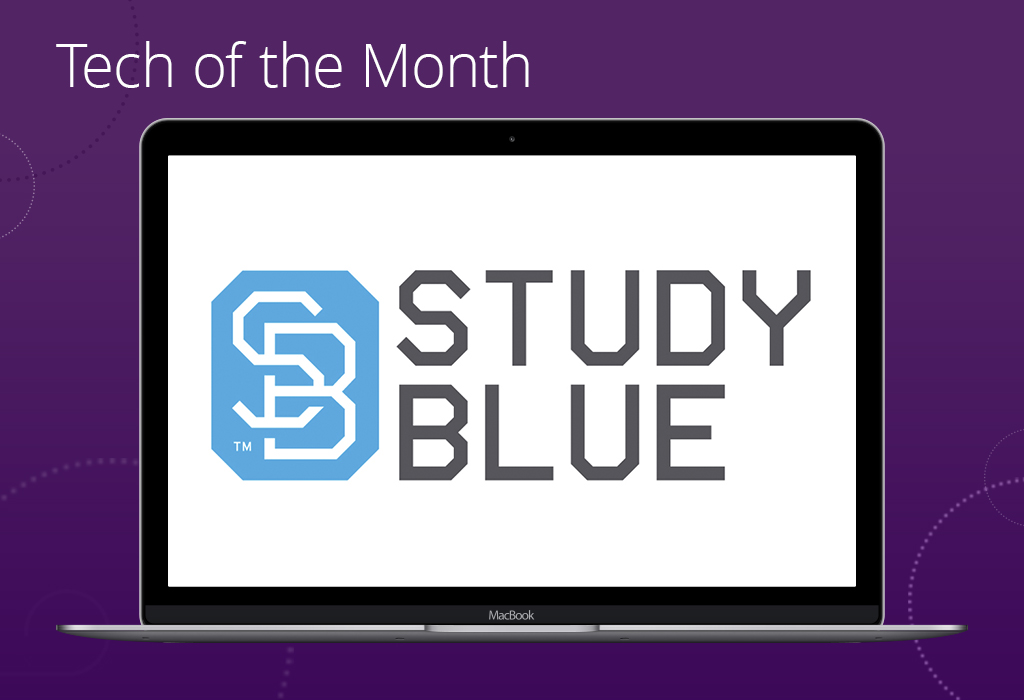 Tech of the Month StudyBlue Jacaranda