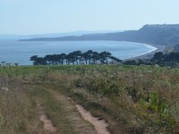 Budleigh Beach from the Cliff Walk