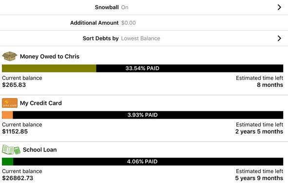 Pay Off Debt App Create Your Own Debt Repayment Plan