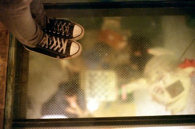Standing on a Glass Floor