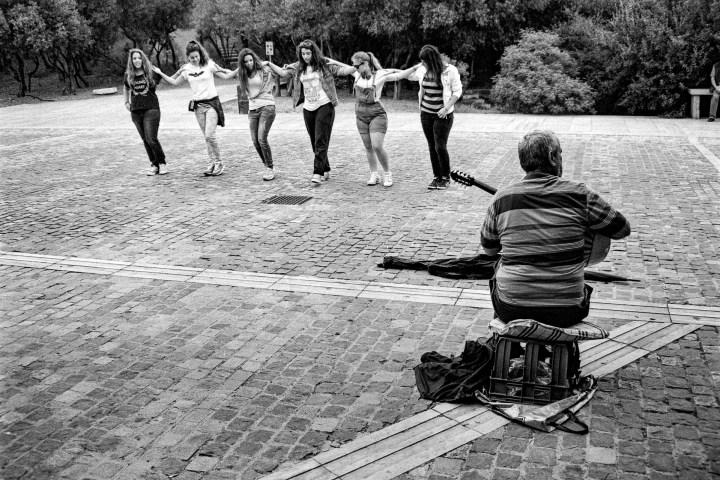 Impromptu Street Dance