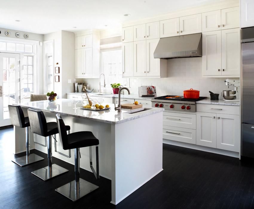 Award Winning Kitchen Designers in Alexandria, Virginia Custom - transitional kitchen design