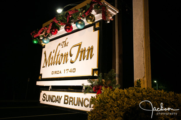 the Milton Inn sign
