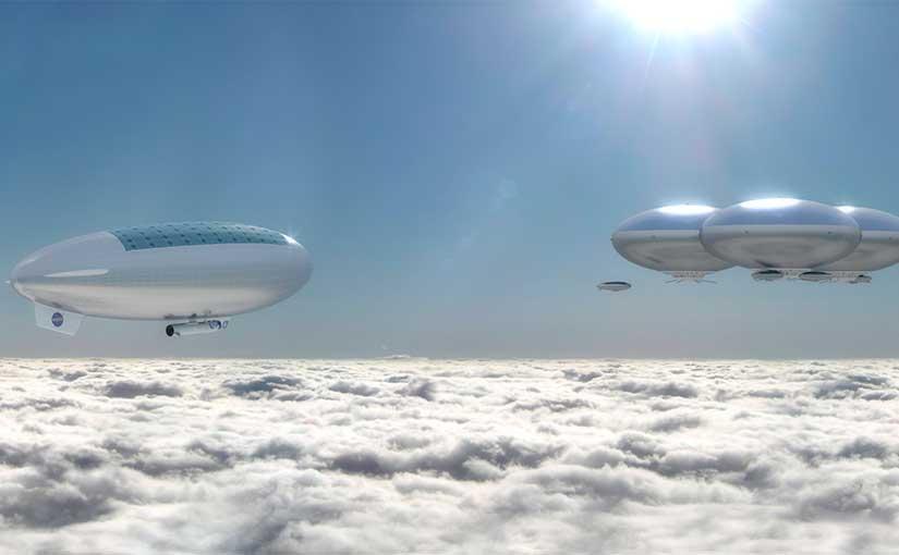 Cidades flutuantes em Vênus - Loucura de cientistas?