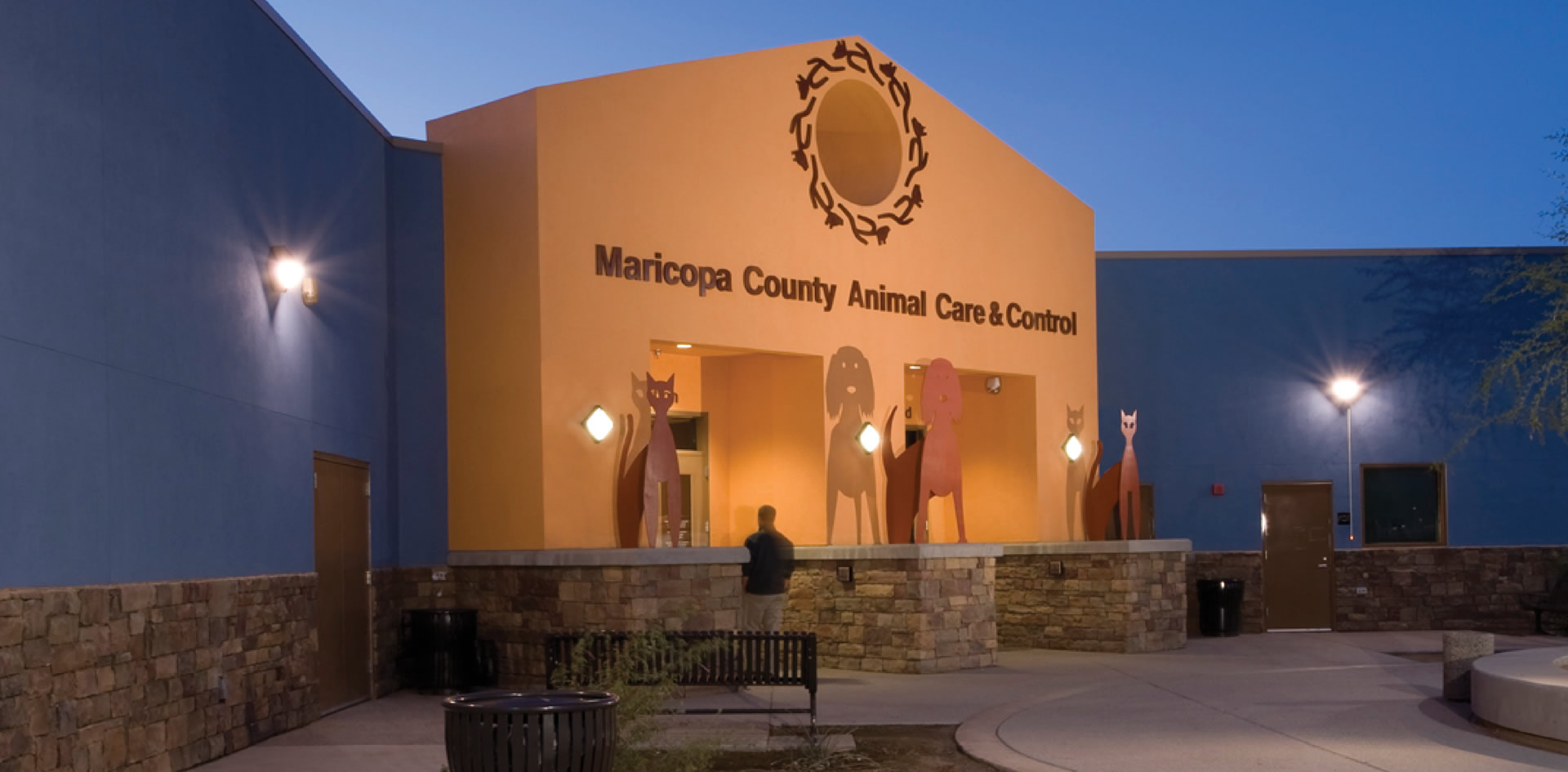 Howling Maricopa County Animal Arizona Jackson Ryan Architects Maricopa County Animal Control Maricopa Animal Care Control Durango Maricopa County Animal Care Control Phoenix Az bark post Maricopa Animal Care And Control