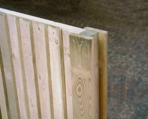 Medium Of Wooden Fence Post