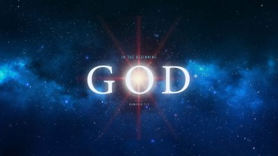 Wednesday Wallpaper: In the Beginning, God