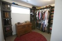 Rustic Industrial Custom Closet Interior   Jacob Clyde Designs