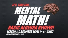 Basic Algebra Set 1 Title