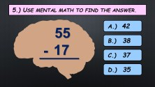 Mental Math Subtraction 2B JPEG