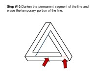 OpArtDrawtheImpossible3DTriangle4