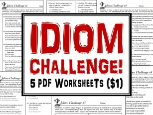 idiom Challenge PDF Title
