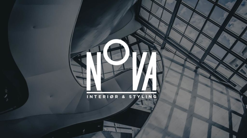 Logo for interior decorator NOVA