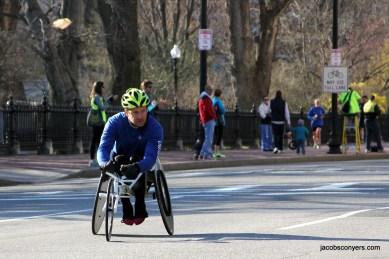 Men's pushrim wheelchair lead