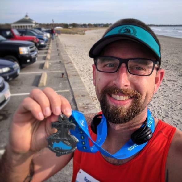 Half Marathon PR at Narragansett