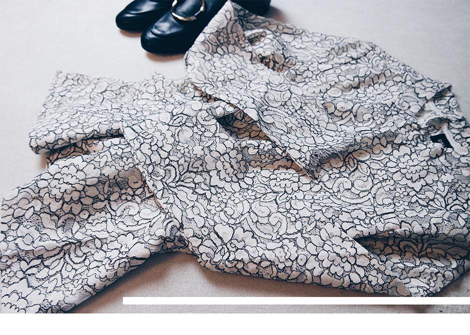 New In Spitzenshirt Mango Loafers