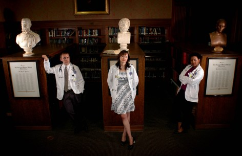 White Coats: Three Journeys through an American Medical School. The Kent State University Press, 2012. Photo by Tim Harrison.