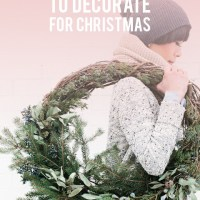 12 Simple Ways to Decorate for Christmas