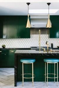 Inspiration: Emerald Green Kitchens | lark & linen