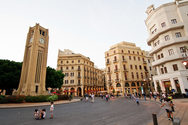 Downtown Beirut by Ahmad Hashim via Flickr Taken on October 14, 2011