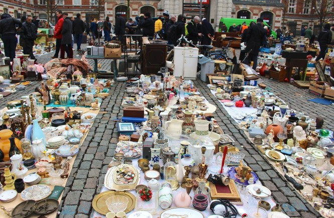The Most Talked About Flea Market in Belgium is a must see! If you are in Brussels, make a stop at the Marolles Flea Market.
