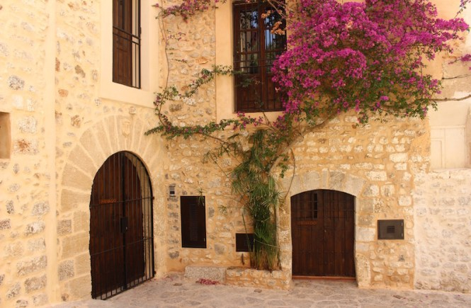 Ibiza's old town in photos.
