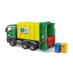 Small Crop Of Bruder Garbage Truck
