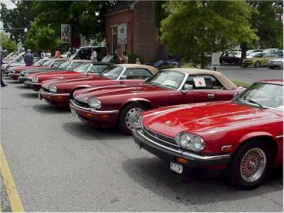 Line Of Xjs At The 2001 Jcna Challenge Championship In