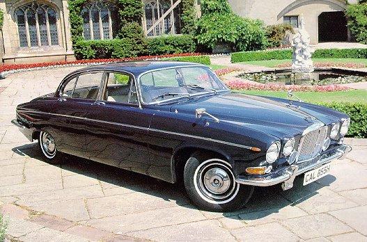Jag-lovers Saloons Mk10 420G